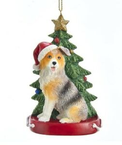Australian Shepherd Christmas Ornament.Details About Australian Shepherd Christmas Tree Ornament