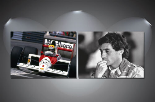 Ayrton Senna F1 Poster Set A4-A3-A2-A1-A0 Sized Sets of 2