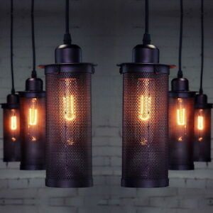antique industrial lighting fixtures. Image Is Loading Hot-DIY-Vintage-Industrial-Lighting-Ceiling-Lamp-Edison- Antique Industrial Lighting Fixtures E