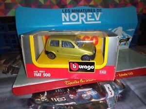 BURAGO-1-43-FIAT-500-NEUF-EN-BOITE