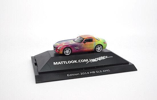 Herpa Mercedes-Benz SLS AMG  mattlook  Edition Edition Edition 2  - 1 87 262acc