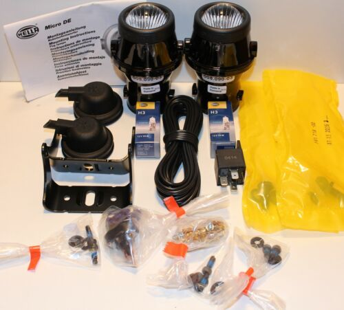 2x-HELLA-Nebelscheinwerfer-H3-Micro-DE-1-Nebelscheinwerfersatz-H3-1NL008090-821