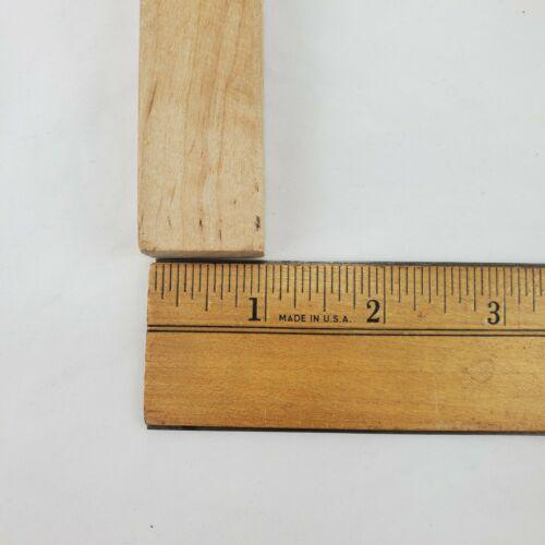 Jenga Replacement Pieces Blocks 6 Wood Tan Game Parts Arts /& Crafts Wooden