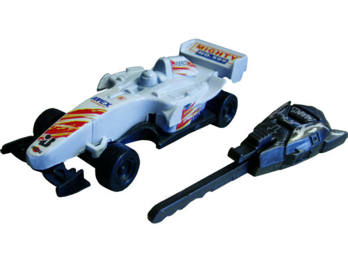 6 Supplied Racing Car With Launcher Key