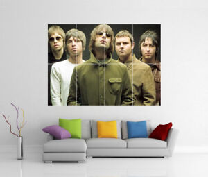 OASIS NOEL & LIAM GALLAGHER GIANT WALL ART PHOTO PRINT POSTER