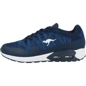 éNergique Kangaroos Kanga X 5000 Sneaker Sport Chaussures De Sport Navy White 18218-4600-afficher Le Titre D'origine Ventes De L'Assurance Qualité