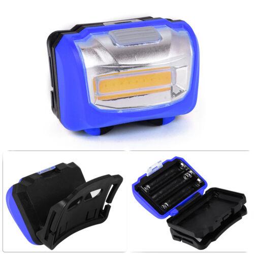 Super Bright Mini Cob LED Headlight Head Light Lamp Torch Hiking Camping Running