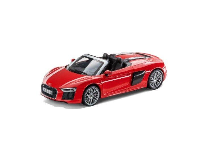 Audi originales r8 Spyder v10 coche modelo 1 18 dynamitrosso dinamita rosso 5011618552