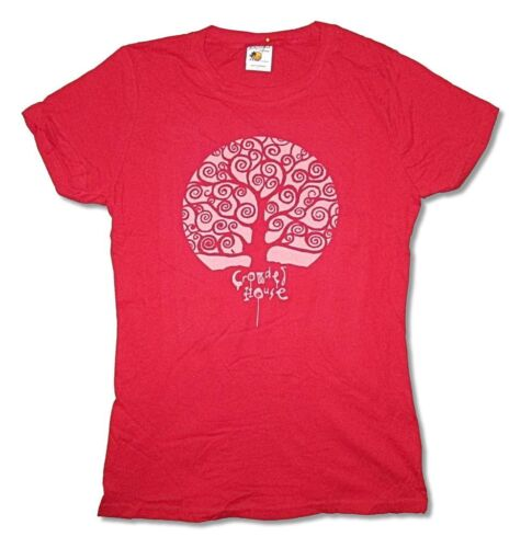 Crowded House Tree Red Girls Juniors T Shirt New Official