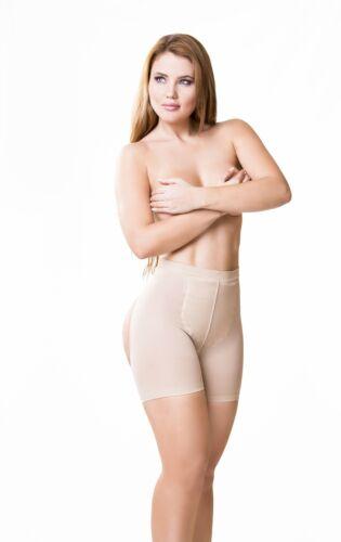 Real Curvy Women Fajas Colombianas Spandex Compressing Butt lifter Briefs 4012