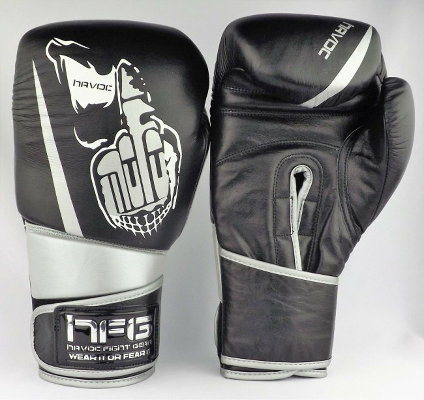 16oz MOFO Leder Premium Boxing Sparring UK Gloves Havoc UK Sparring Boxing Gloves Muaythai e19c45