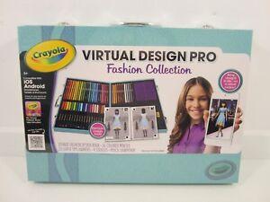 Crayola Virtual Design Pro Fashion Collection Ios Android New Sealed Ebay