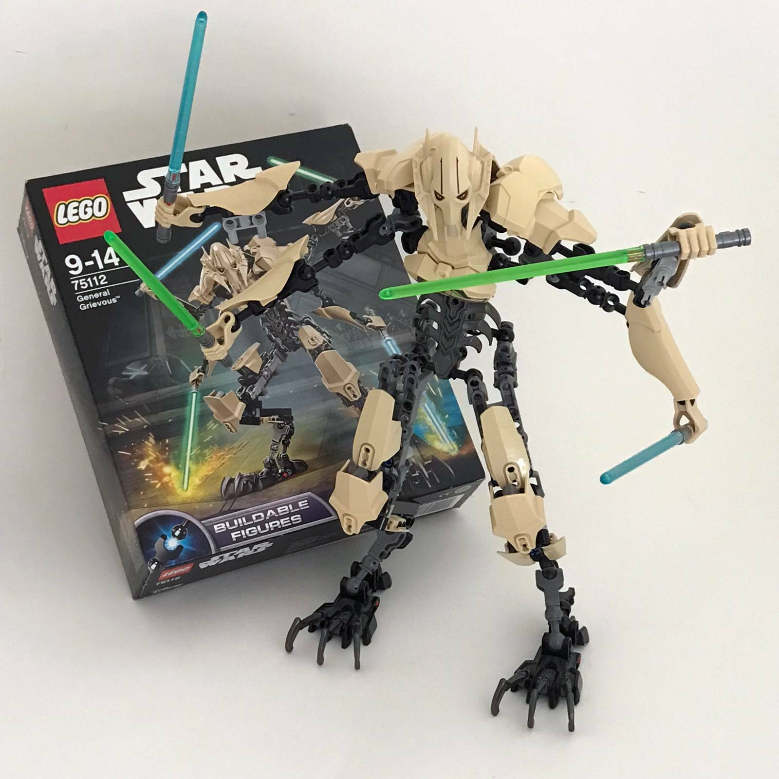 Lego Star Wars set 75112 General Grievous, complete, as new