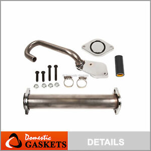 Details about Complete EGR Delete Kit 03 07 Ford F250 F350 F550 6 0L  Powerstroke Diesel