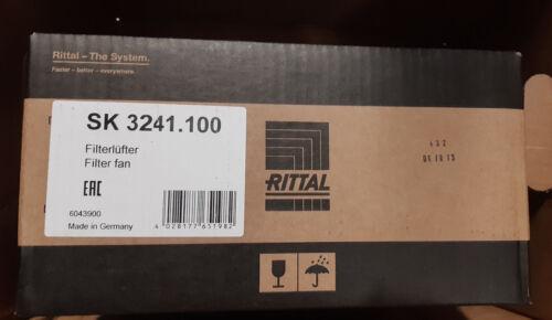 Rittal SK 3241.100 filtros ventiladores ventiladores 205m³/h, 255 x 255mm ip54 230 V 46w