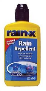 rain x pare brise d perlant anti pluie verre traitement. Black Bedroom Furniture Sets. Home Design Ideas