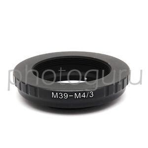 Anello-adattatore-per-obiettivo-M39-su-MICRO-4-3-Olympus-E-P1-E-P2-E-P3-E-P5