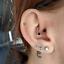 Lot-3pcs-CZ-Steel-Tragus-Helix-Cartilage-Upper-Ear-Piercing-Bar-Studs-Earring thumbnail 12