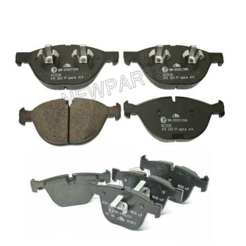 For BMW E70 E71 X5 X6 xDrive50i 08-14 Set of Front /& Rear Brake Pads Ate