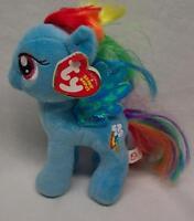 Ty My Little Pony Friendship Is Magic Rainbow Dash 7 Plush Stuffed Animal