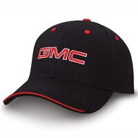 Gmc Black And Red Sandwich Brim Hat