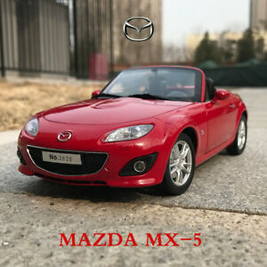 Original-Model-1-18-Scale-Red-Mazda-MX-5-Roadster-Car-Model-Diecast-Collection