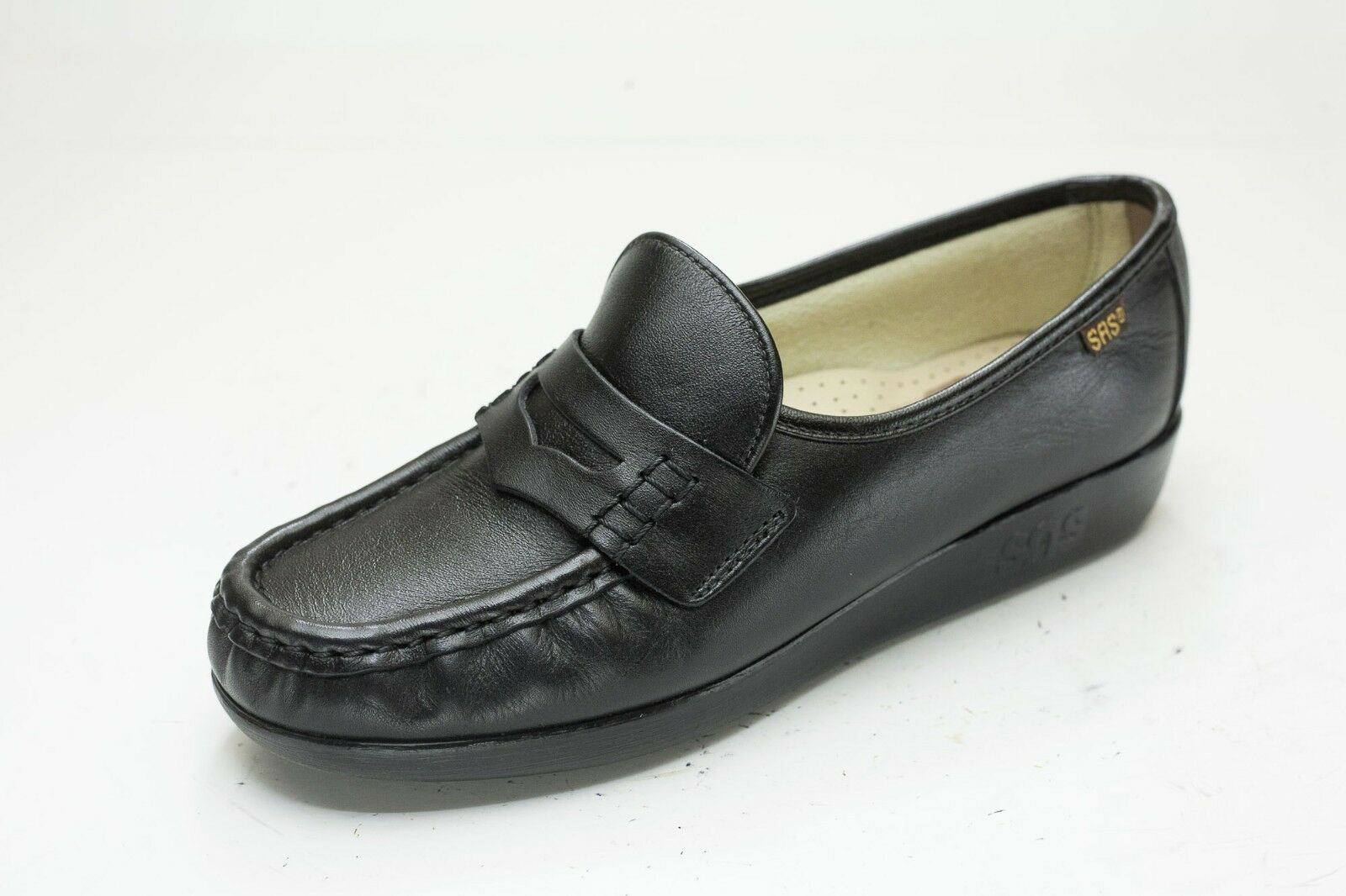 Men's/Women's SAS 6 Black Penny Loafers Women's New product a variety of Selling new products