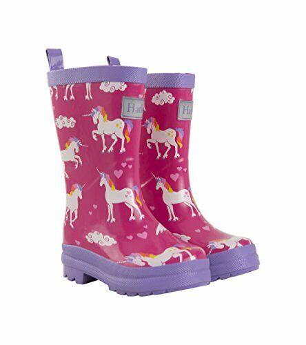 rainbow unicorn rain boots