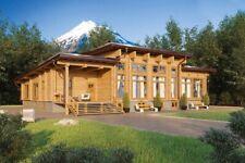 Modern Log House Kit Lh 314 1 Eco Friendly Wood Prefab Diy Building Cabin Home