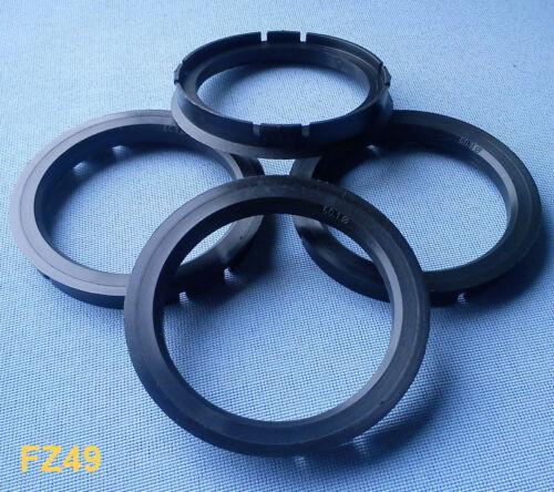 4 anillas de centrado 75,0 mm 65,0 mm