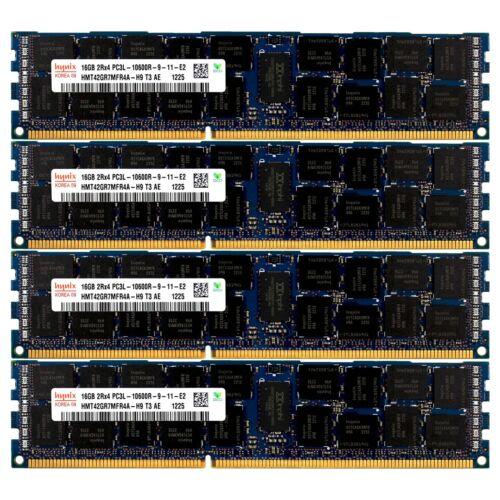 PC3L-10600 4x16GB DELL PRECISION WORKSTATION T5500 T5600 T7500 T7600 Memory Ram