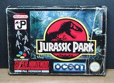 JURASSIC PARK - Super Nintendo SNES - PAL VERSION - Usato