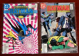 Batman-415-416-CLEAN-HIGH-GRADE-Detective-Coimcs-Robin-Nightwing-DC-Copper-Age