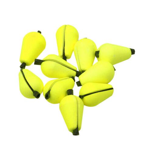 6xBissanzeiger Knetbissanzeiger Für Fliegenfischen Zubehör Gelb Kunststoff