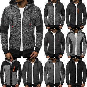 Kapuzenpullover-Sweatshirt-Pullover-Hoodie-Sweatjacke-Herren-OZONEE-10400-MIX