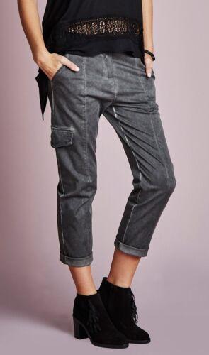 oder 3//4 Hose Stretchhose NEU 7//8 Cargohose Sommerhose Damenhose