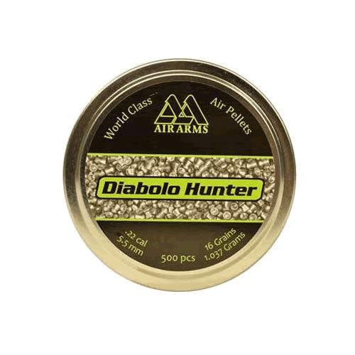Air Arms Diabolo Hunter .22, 5.50 - Qty 50's 100's 500's & 1000's