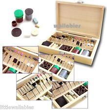 100 pc Mini Rotary Grinding Drilling Polishing Sanding Jewellery Dremel Tools