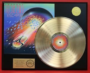JOURNEY-E5C4P3-034-24KT-GOLD-LP-LTD-EDITION-RARE-RECORD-DISPLAY-AWARD-QUALITY