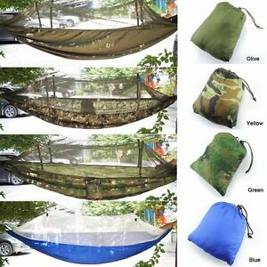 image is loading portable high strength hammocks jungle camping hammock  mosquito  portable high strength hammocks jungle camping hammock mosquito      rh   ebay