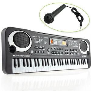 61-Saiten-Keyboard-Klavier-E-Piano-Kinder-Geschenk-Lernfunktion