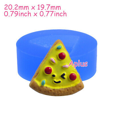 GFiEB600 20.2mm Cake Slice Silicone Mold Cake Decoration Resin Baking Tools