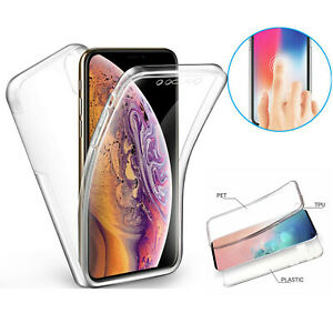 360 Transparent Case For iPhone 12 11 XR Huawei Sam Cover Silicone Shockproof