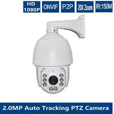 ip Auto tracking 22x zoom 2mp PTZ dome camera 7 inch waterproof night  IR 250M