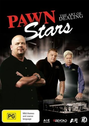 1 of 1 - The Pawn Stars - Art Of Dealing (DVD, 2016, 2-Disc Set)