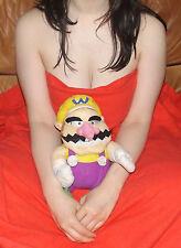 "SUPER MARIO BROS WARIO 13"" Official Plushie Nintendo Soft Toy Gosh Rare sexy"