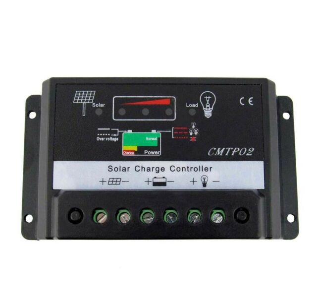 20A MPPT Solar Regulator Panel Battery Charge Controller 12V 24V Auto PK