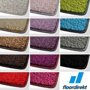 barcelona hochflor shaggy teppich langflor wohnzimmer einfarbig rund teppiche ebay. Black Bedroom Furniture Sets. Home Design Ideas