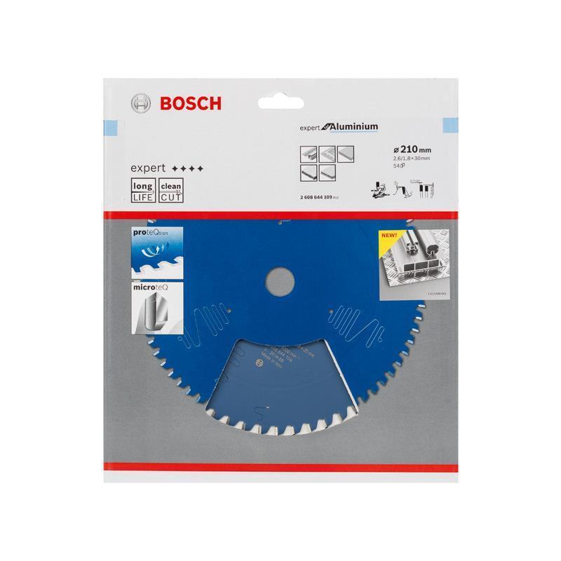Bosch HM-Sägeblatt 210x2,6x30 Z54 2608644109 Expert for Aluminium Gehrungssägen