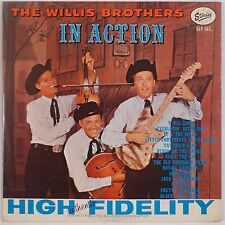 THE WILLIS BROTHERS: In Action STARDAY USA Orig VG+ Super Country VINYL LP